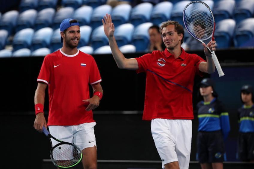 Rusia vence Argentina y pasa a semifinales de la Copa ATP