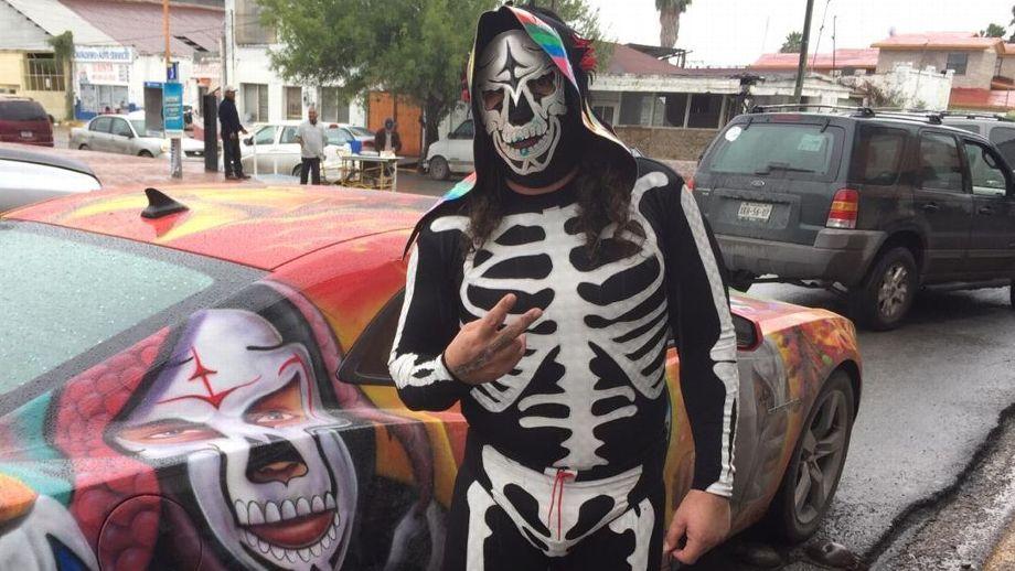 Falleció el luchador mexicano 'La Parka' a causa de falla renal