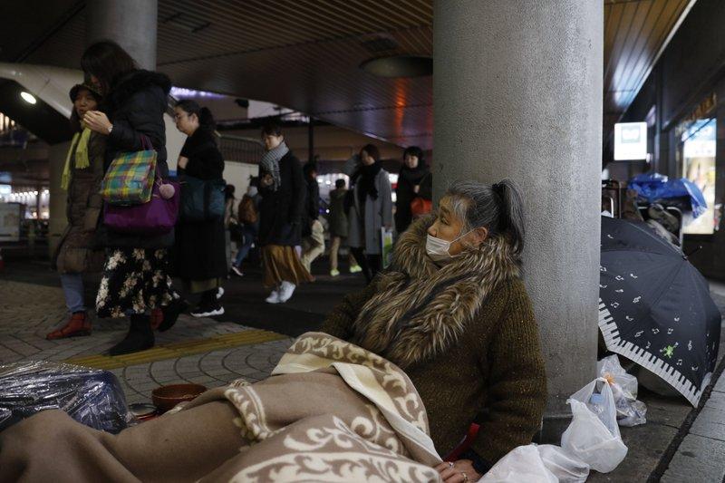 Indigentes de Tokio son una preocupación para Juegos Olímpicos