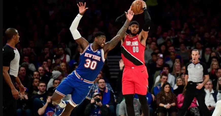 Knicks arruinan regreso de Carmelo Anthony al Madison Square Garden