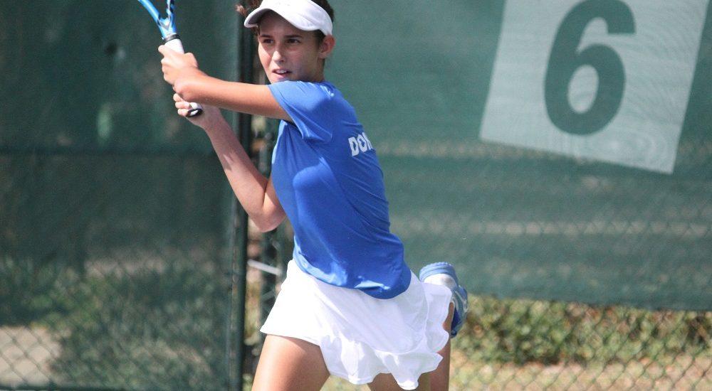 Selección femenina U14 clasifica a cuartos de final en World Junior Tennis
