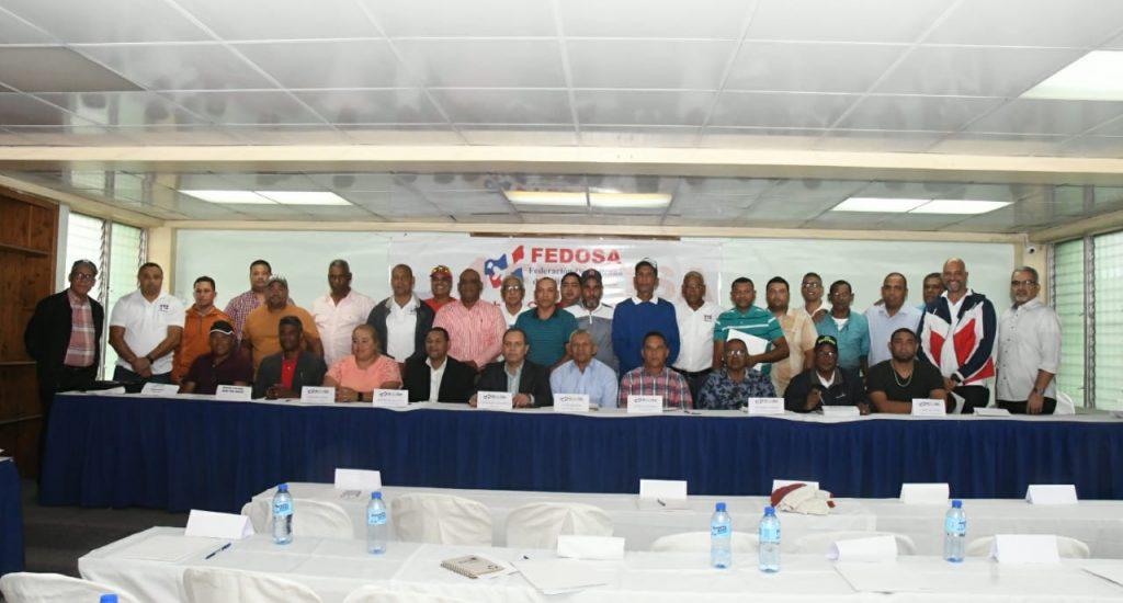 Asamblea aprueba a unanimidad, informe del presidente y financiero en la Fedosa