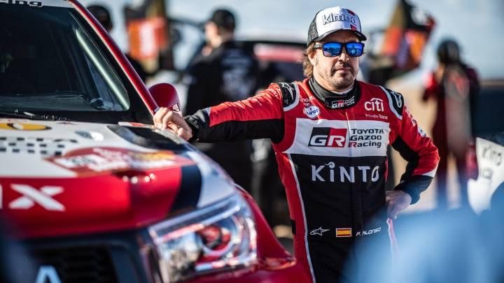Alonso aspira lograr su primer podio de etapa en el Dakar