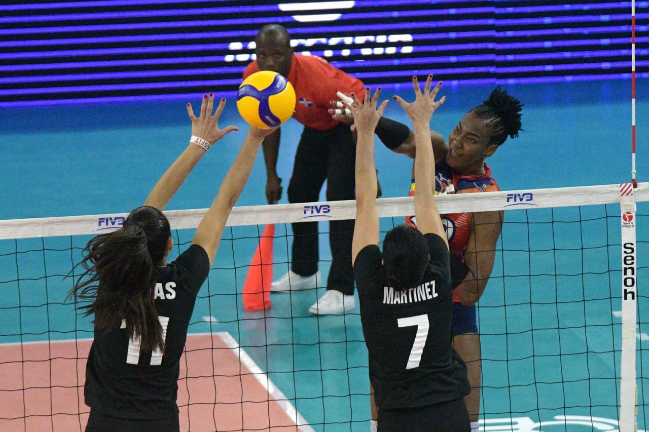 Sexteto RD vence en cinco sets a México en clasificatorio voleibol