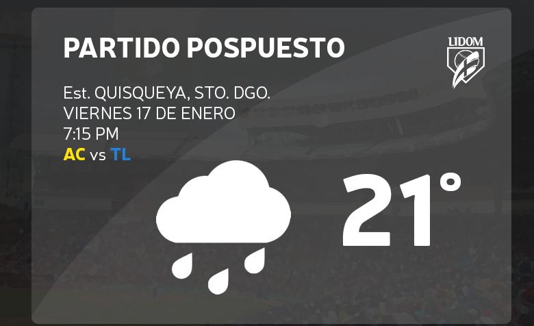 Posponen por lluvia partido decisivo entre Águilas y Tigres
