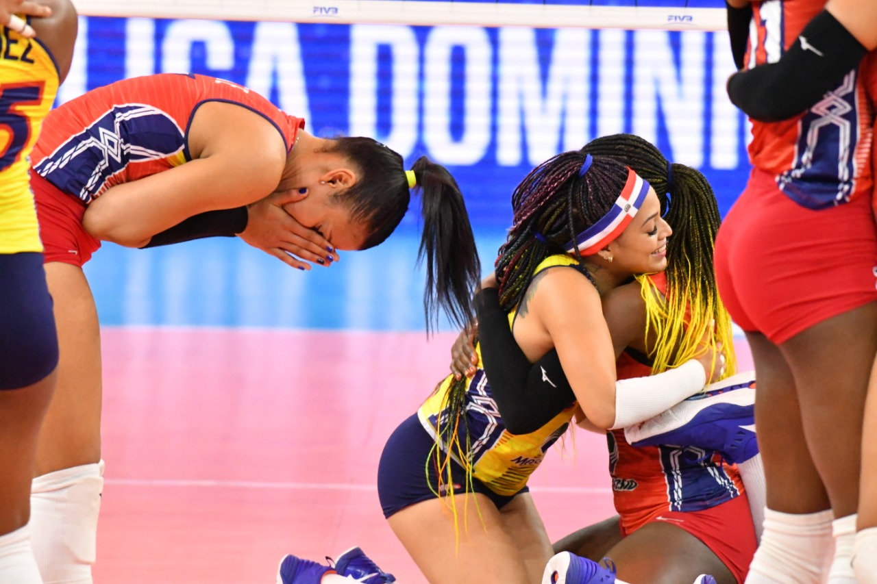 Selección dominicana de voleibol en grupo A para Torneo Olímpico