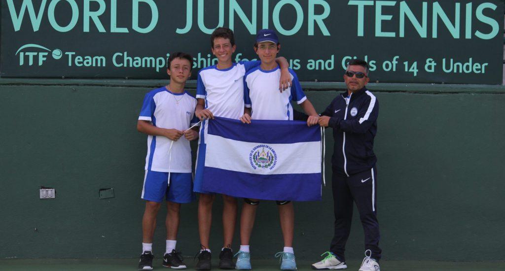 Equipo masculino U14, segundo lugar en World Junior Tennis