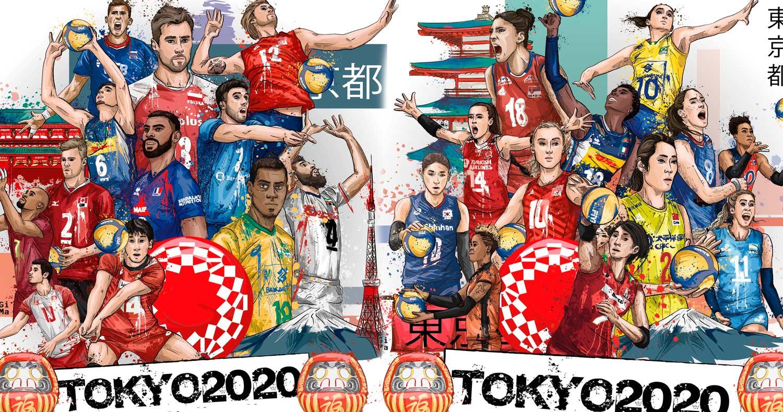 Clasificación Continental confirma lugares torneo voleibol Tokio 2020