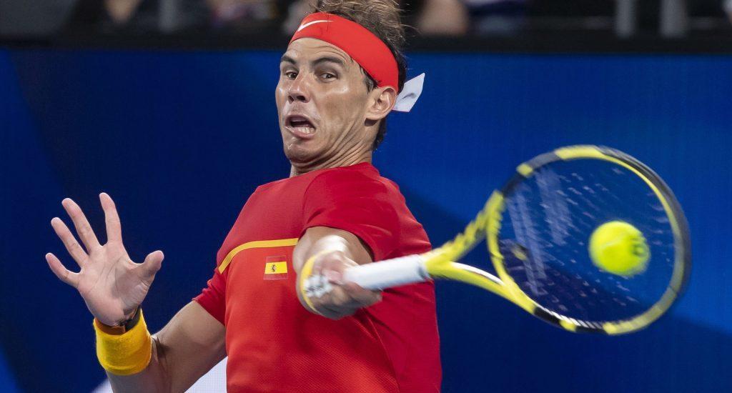 Rafael Nadal coloca a España en final Copa ATP con sufrida victoria