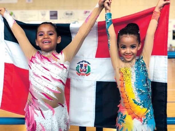 Dominicana Letizia García gana bronce en Americup de Patinaje Artístico