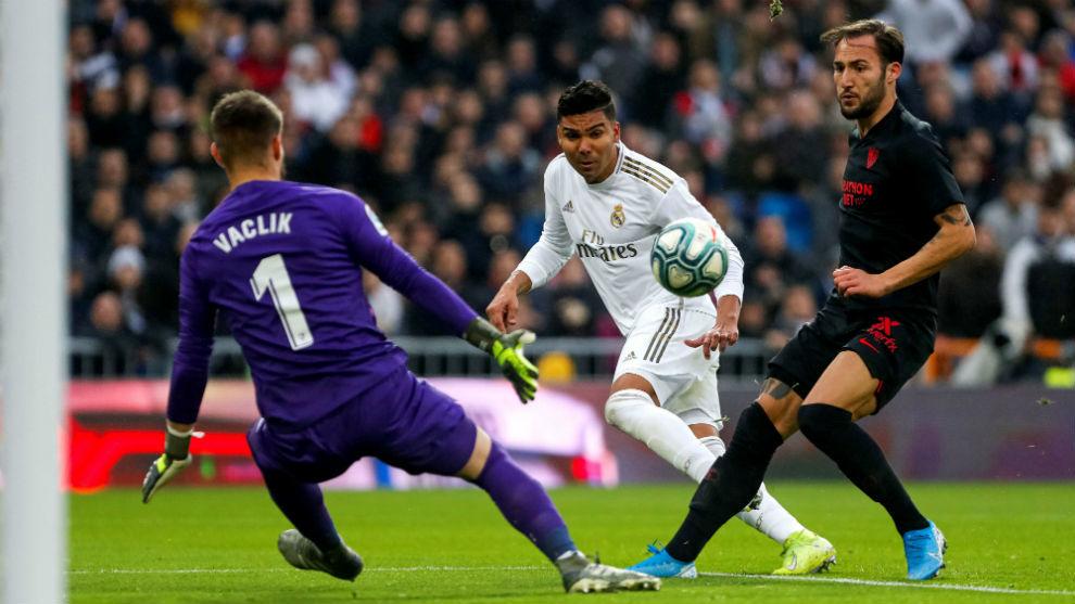 Real Madrid vence a Sevilla sin Ramos, Valverde y Benzema