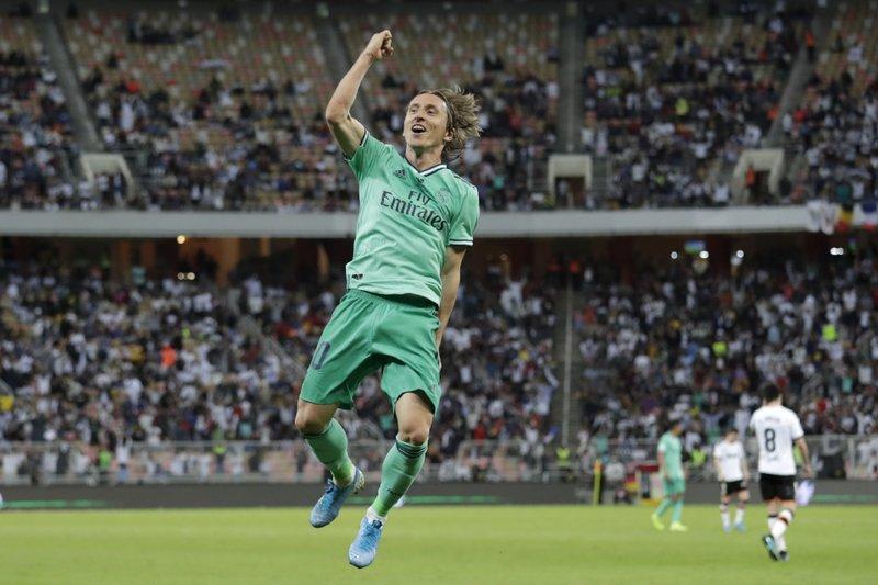 Real Madrid  a la final de la Supercopa española