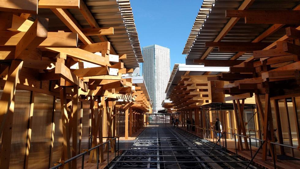 Tokio 2020 muestra una plaza