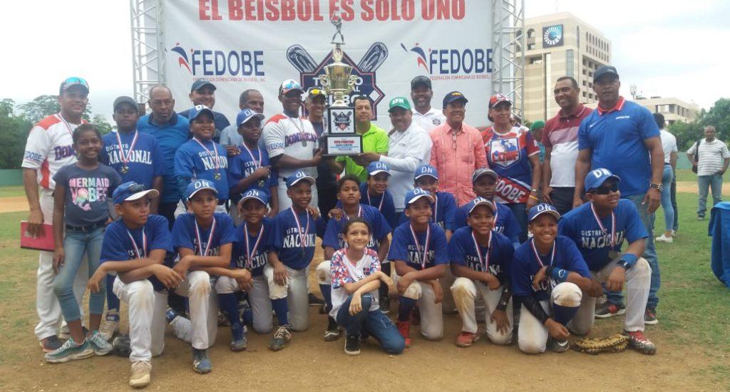 El Distrito Nacional gana título de campeón torneo béisbol U-11