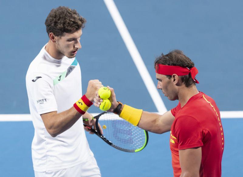 Serbia y España avanzan a  semifinales de la Copa ATP