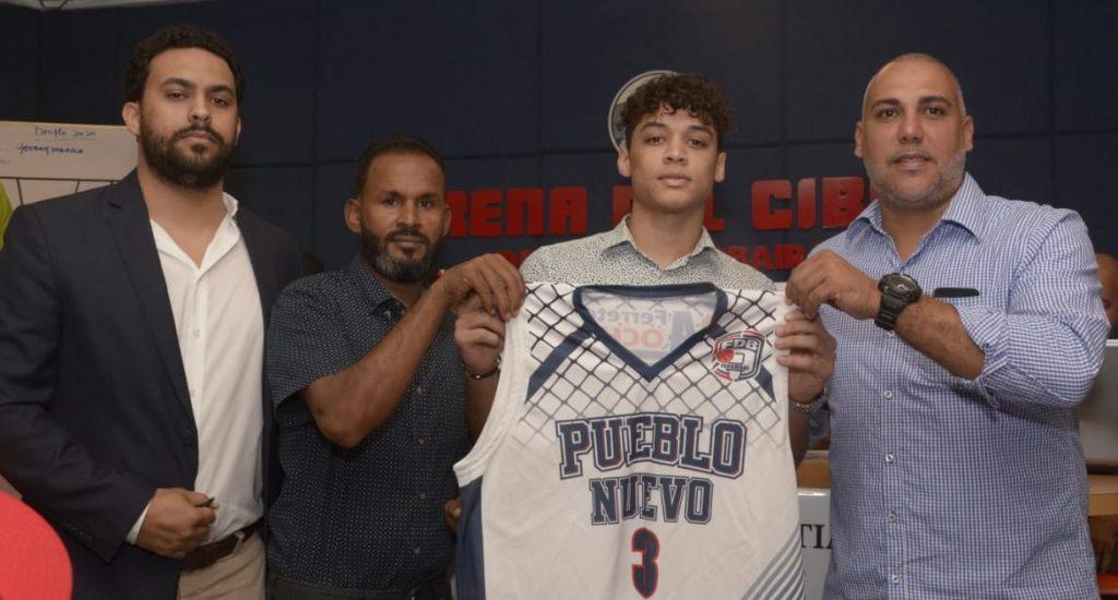 Pueblo Nuevo escoge a Mencía en sorteo novatos basket Santiago