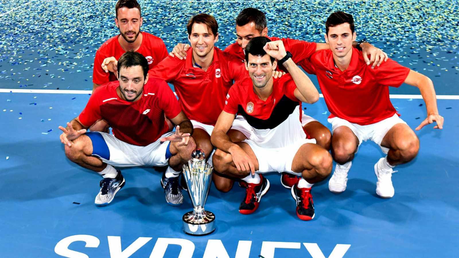 Serbia hace lo posible y es el campeón de la primera Copa ATP