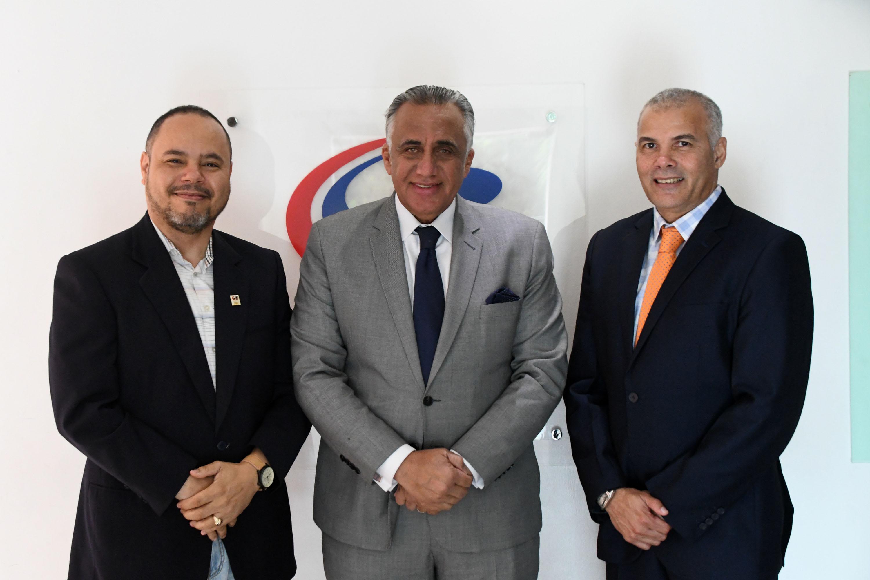 Rubén García visita presidente del Comité Olímpico Dominicano