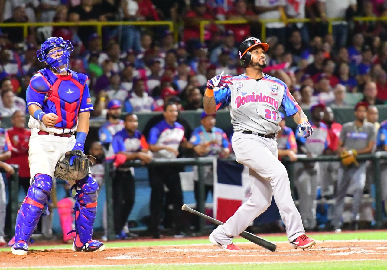 Lino, Valdespin, Sosa y Ramírez en el Todos Estrellas Serie del Caribe