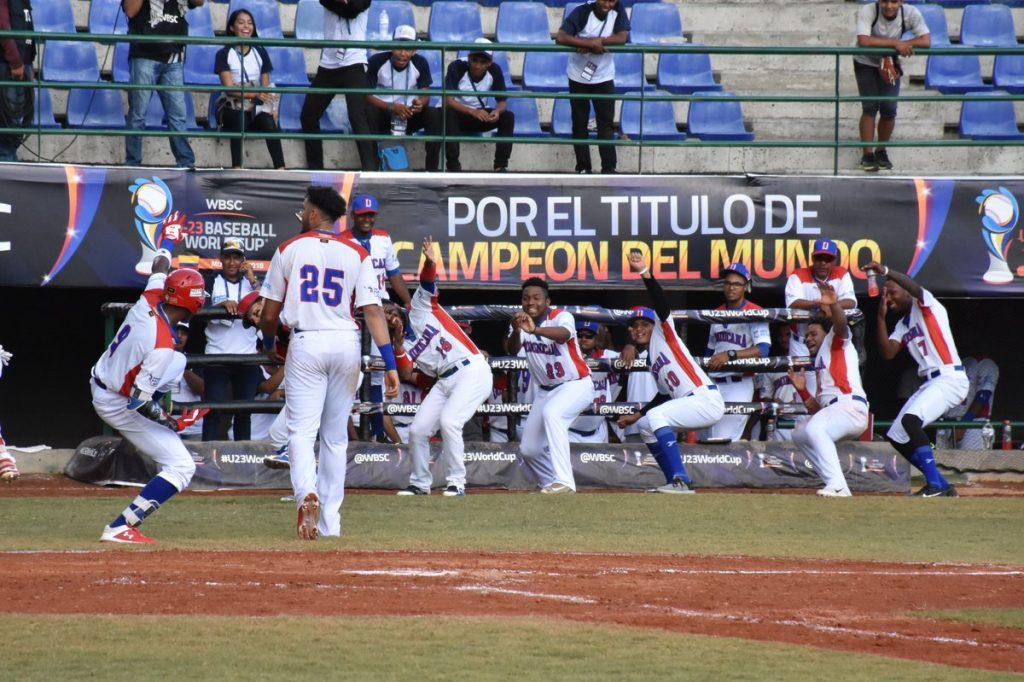 Béisbol RD abre clasificatorio Copa del Mundo Sub-23 ante Venezuela
