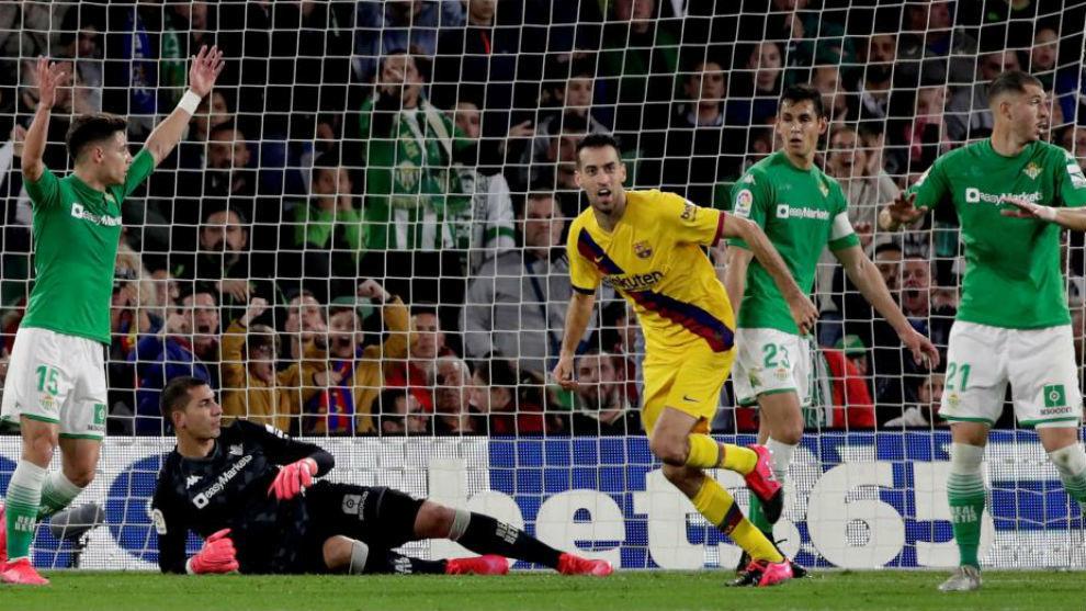 Barcelona remonta ante el Betis; Real Madrid golea a Osasuna