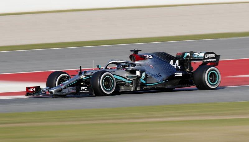 Lewis Hamilton y Valtteri Bottas dominan inicio de la pretemporada