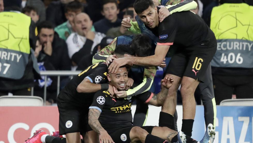 Manchester City complica al Real Madrid; Lyon a la Juve en Champions