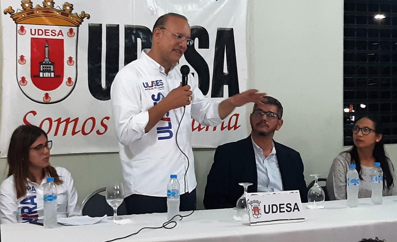 UDESA agradece a aspirantes alcalde presentaron propuestas deportivas