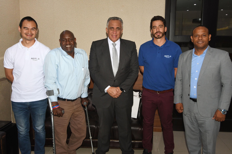 Fundación Agitos expone al COD impulsar el deporte paralímpico