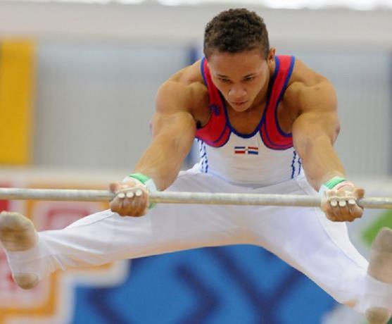 Audrys ocupa octavo lugar en copa del Mundo gimnasia artística