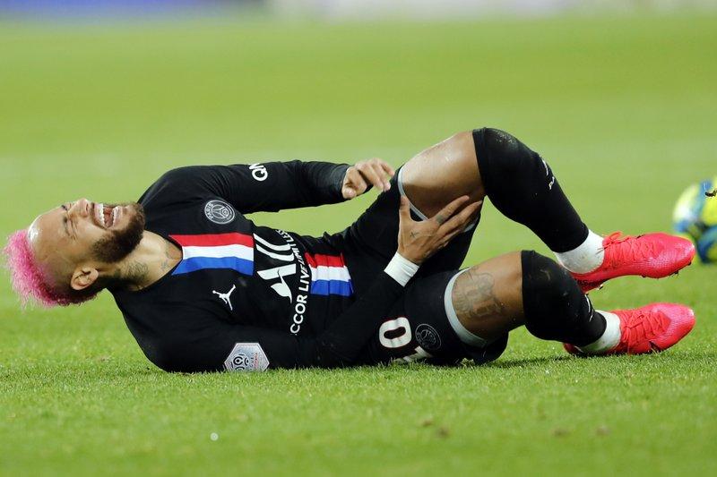 Debido a lesión, Neymar no accionará en el PSG contra Lyon