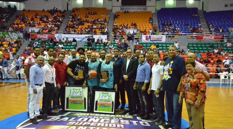ABASACA realiza Encuentro de Leyenda del Baloncesto