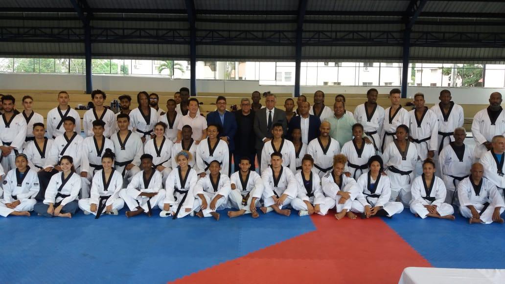 Atletas de 17 países  se preparan en RD en ruta torneo taekwondo de Tokio 2020