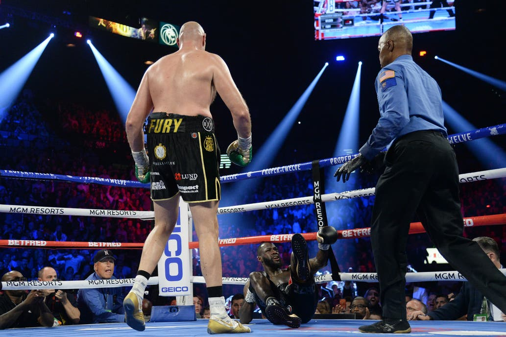 Tyson Fury hizo historia y le ganó por nocaut a Deontay Wilder