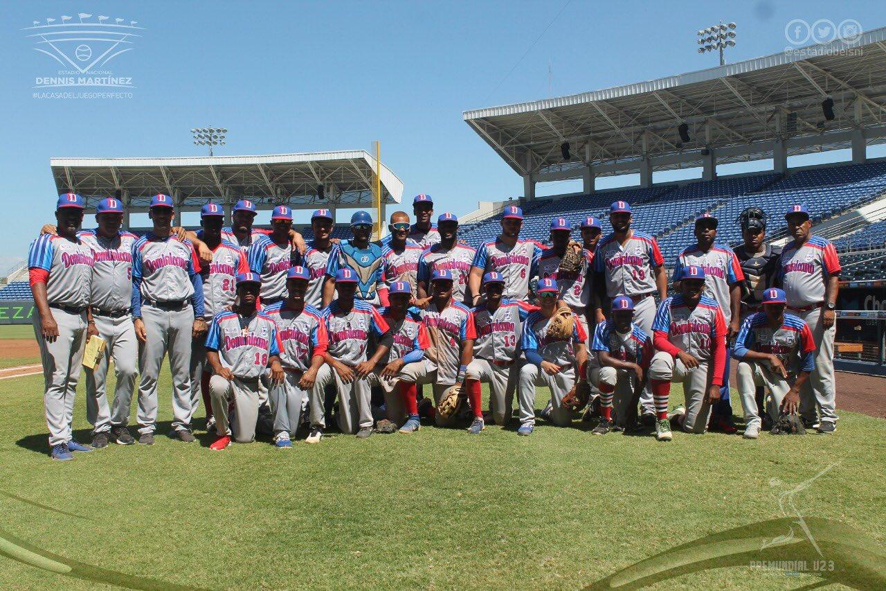 Novena dominicana iniciará súper ronda de béisbol u-23 este jueves contra Colombia