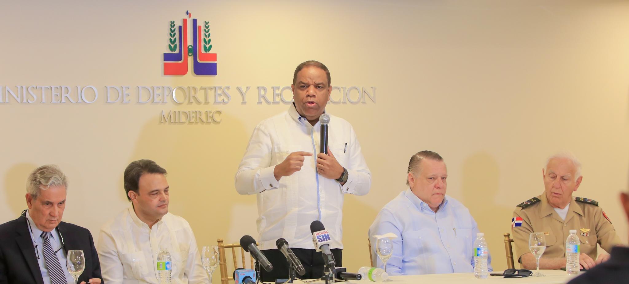 Solicitan que República Dominicana sea sede Juegos Centroamericanos en 2026