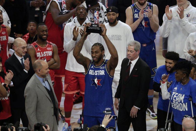 Equipo LeBron gana Juego de Estrellas NBA; Kawhi Leonard se queda con el MVP