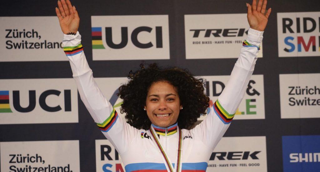 Ciclista RD conquista el oro en Campeonato Mundial de CicloCros