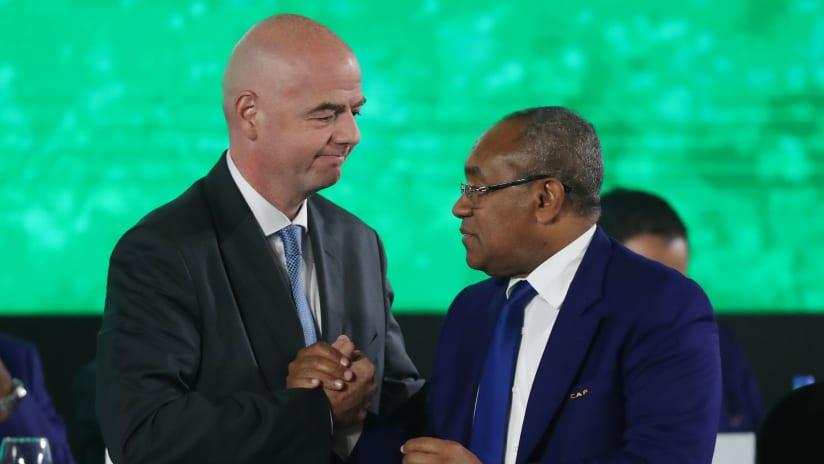 FIFA concluye misión en la Confederación Africana de Fútbol