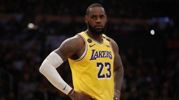 LeBron James no estará disponible para juego ante Warriors por problemas en la ingle