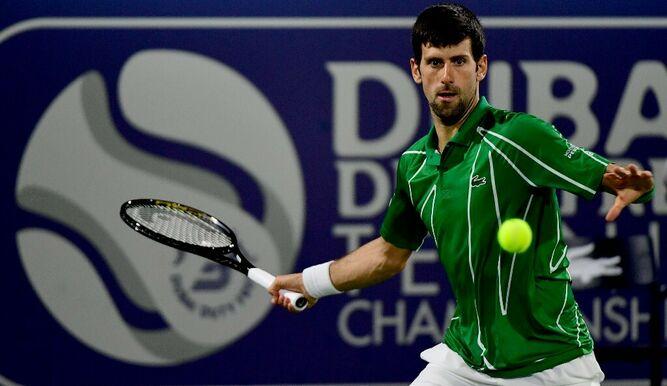 Djokovic y Tsitsipas, la final en Dubái; Nadal a semis en México