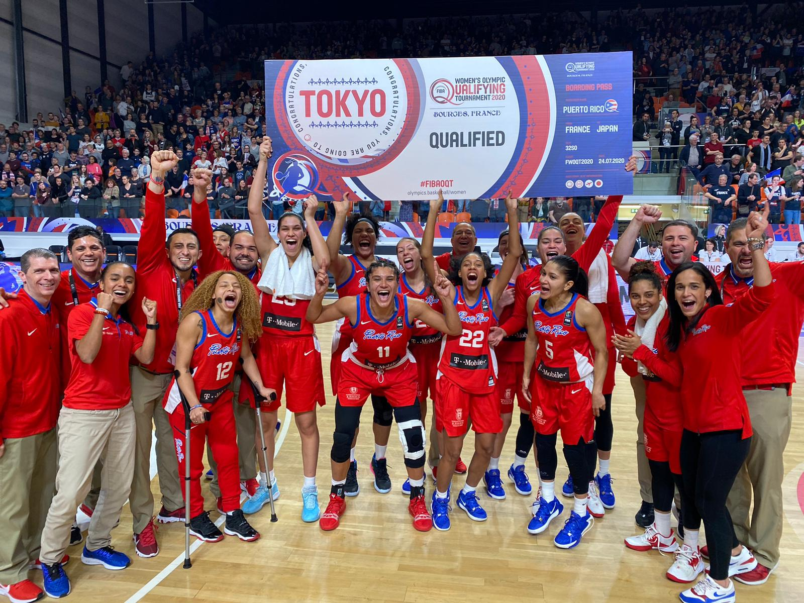 Baloncesto femenino Puerto Rico clasifica a Tokio 2020