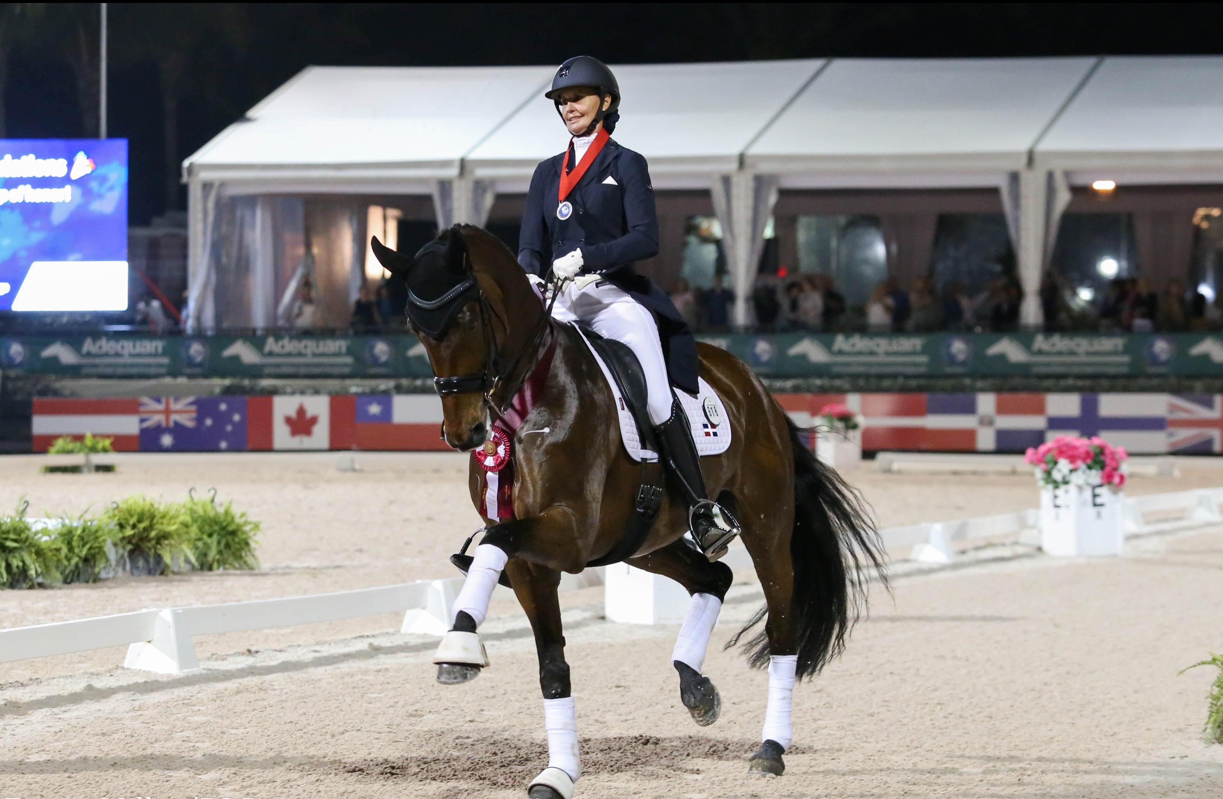 Dominicana Yvonne Losos de ecuestre competirá en Olimpiadas de Tokio 2020