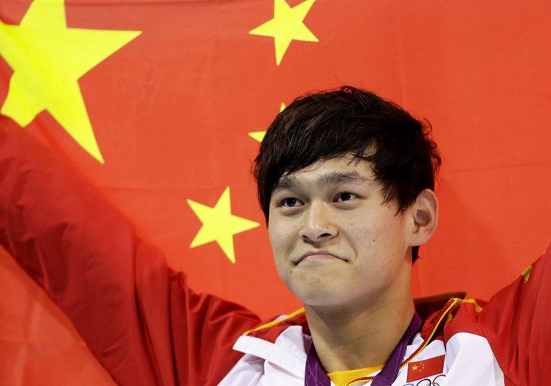 Nadador Sun Yang, tricampeón olímpico, recibe veto de 8 años