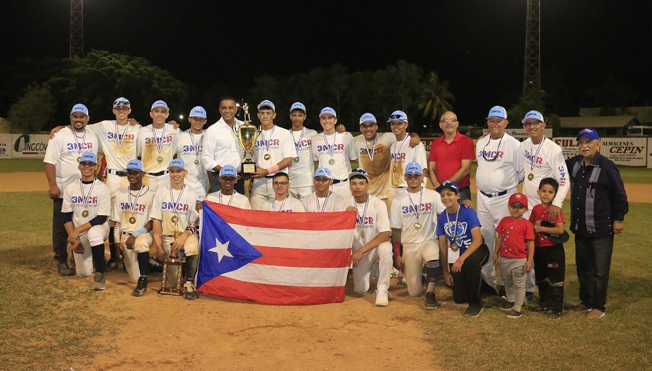 Puerto Rico se proclamó campeón Torneo Béisbol Internacional Moca