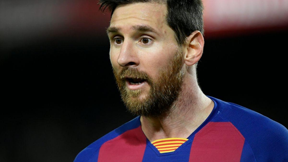 Messi hace frente a críticas realizadas por el dirigente del Barça