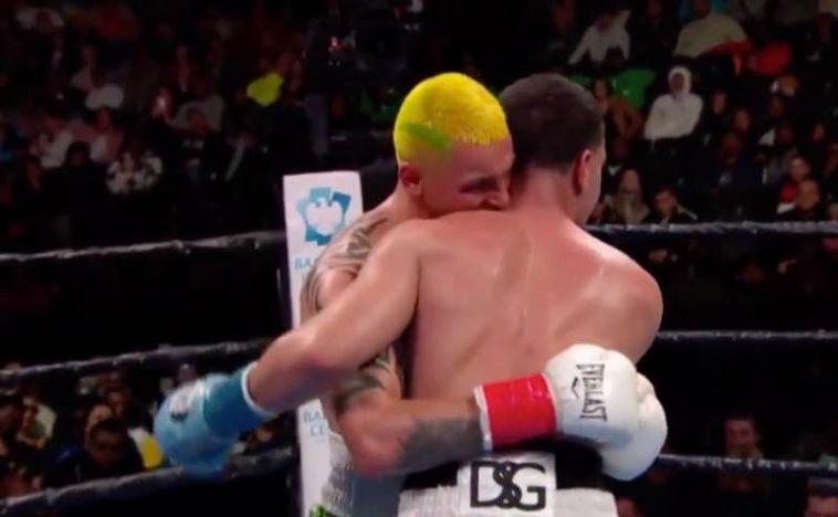 Boxeador suspendido un año tras morder a su oponente