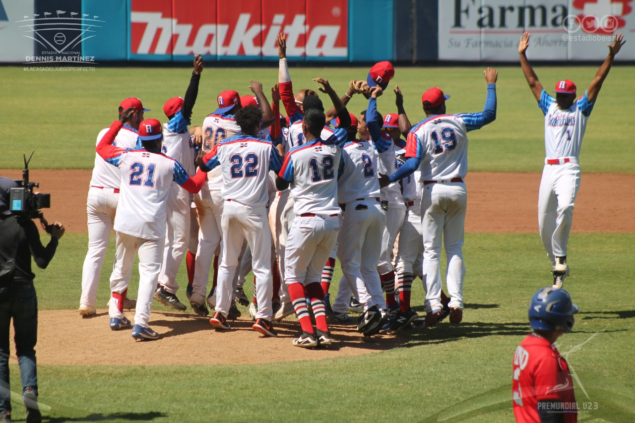 Equipo RD avanza a la Súper Ronda Premundial sub-23 de béisbol