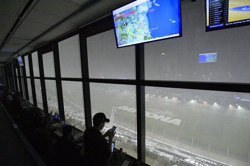 500 millas de Daytona se correrán este lunes por inclemencias del tiempo