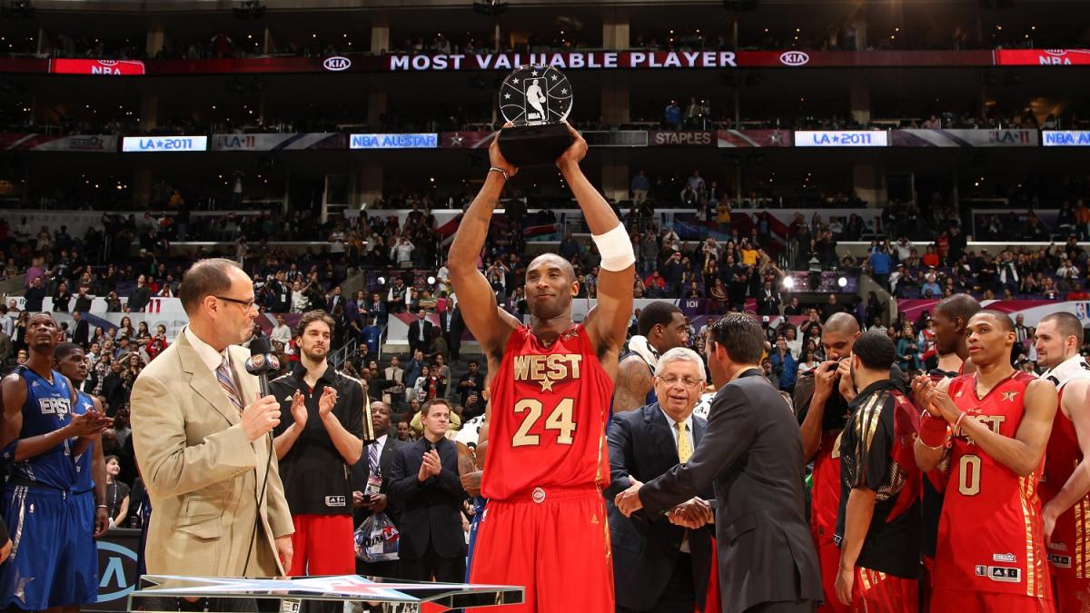 La NBA cambiará premio MVP Juego de Estrellas en honor a Kobe Bryant